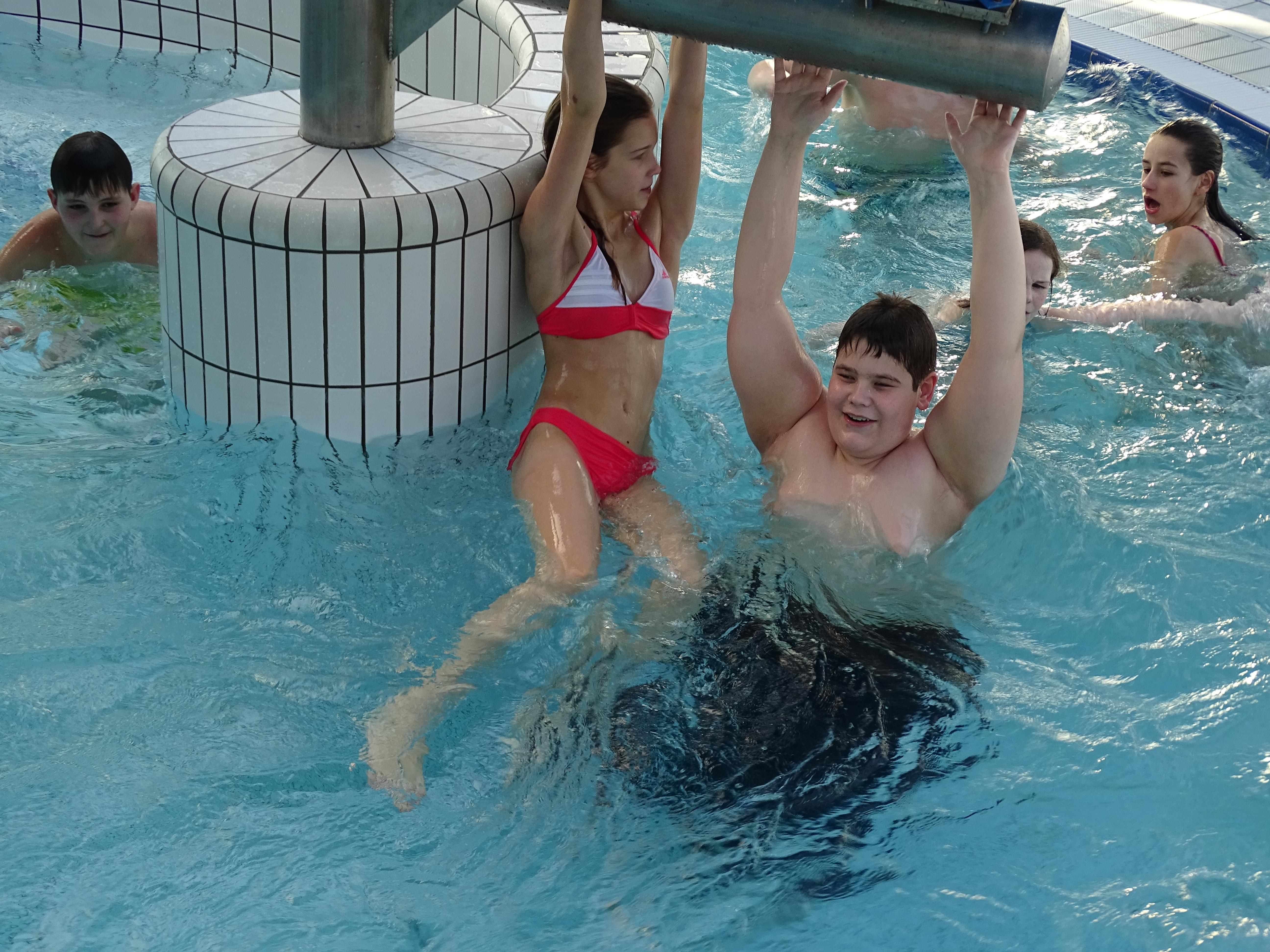 Schwimmlager