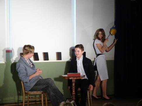 Szene aus dem Stück