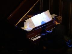 Jannes Wendt am Klavier