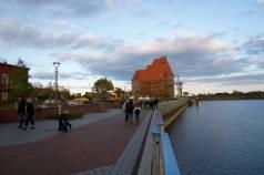Ölmühle aus Richtung Hafen