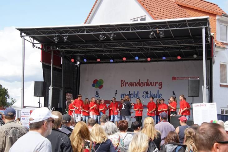 Auftritt der Rolandschule Perleberg