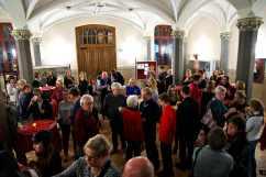 Foyer während der Pause