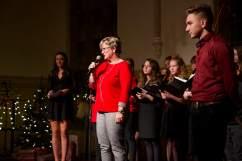 Rede von Frau Krieg auf dem Weihnachtskonzert 2018