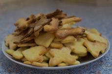 Kekse, die die Gruppe gebacken hat
