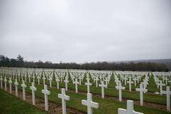 Friedhof der französischen Soldaten in Douaumont