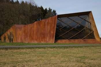 Gedenkstätte des SS-Sonderlagers Hinzert von außen