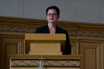 Rede von Frau Jura
