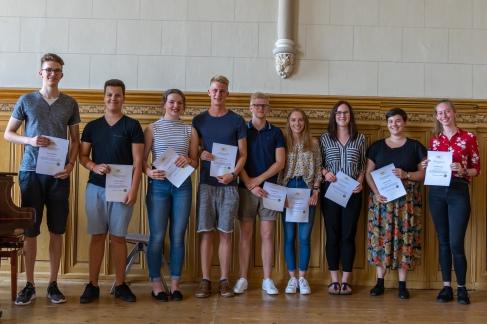 Auszeichnung der engagiertesten Abiturienten